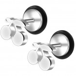 2pc 16g 316L Surgical Stainless SteelCherry Fake Ear Plug Gauges Earrings Cheater Stud Surgical Steel Bar Piercing Jewelry