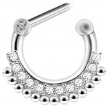 16g Septum Surgical Steel Helix Nostril Earrings Ring Nose 6mm Clicker Cartilage Ear Lobe Piercing Jewelry